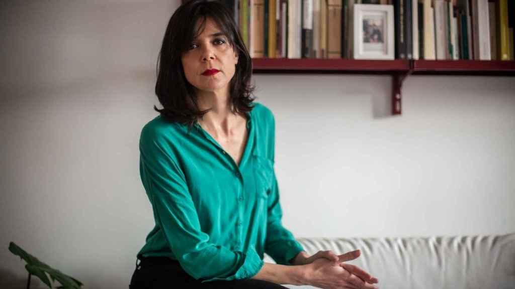 La escritora Lara Moreno.
