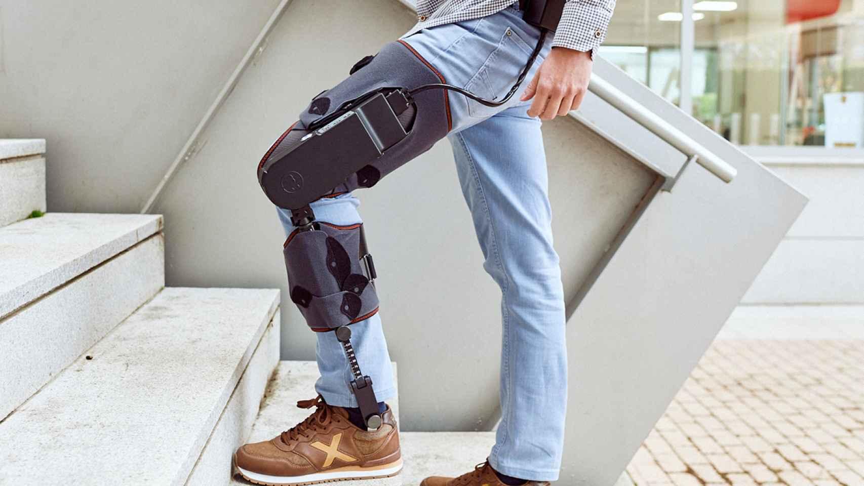 MAK es el nuevo exoesqueleto de rodilla desarrollado por la española Marsi Bionics.