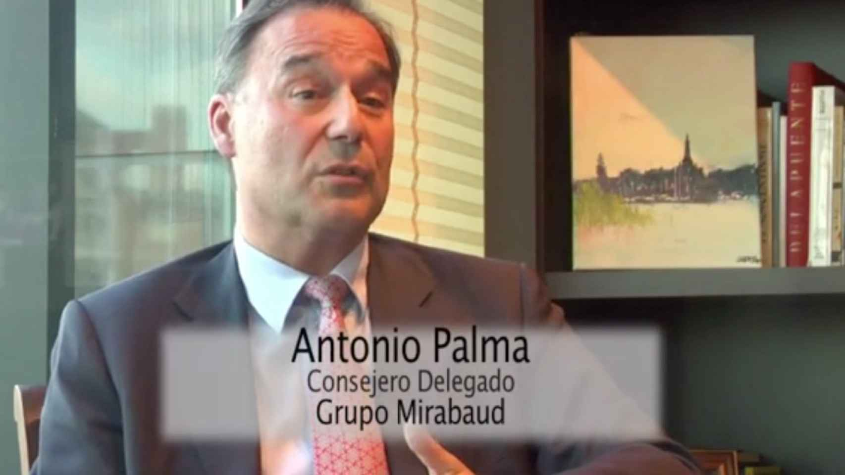 Antonio Palma, consejero delegado del Grupo Mirabaud.