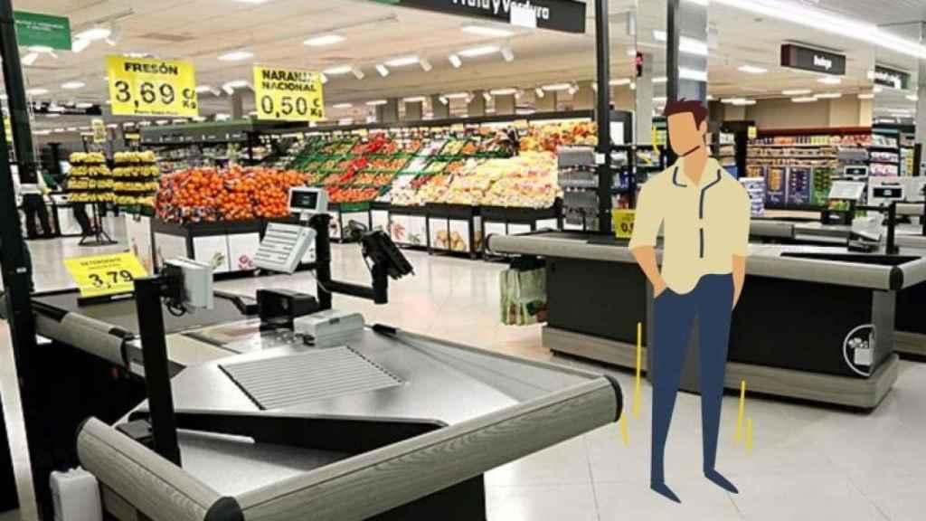 Imagen sobre reconocimiento facial de Mercadona.
