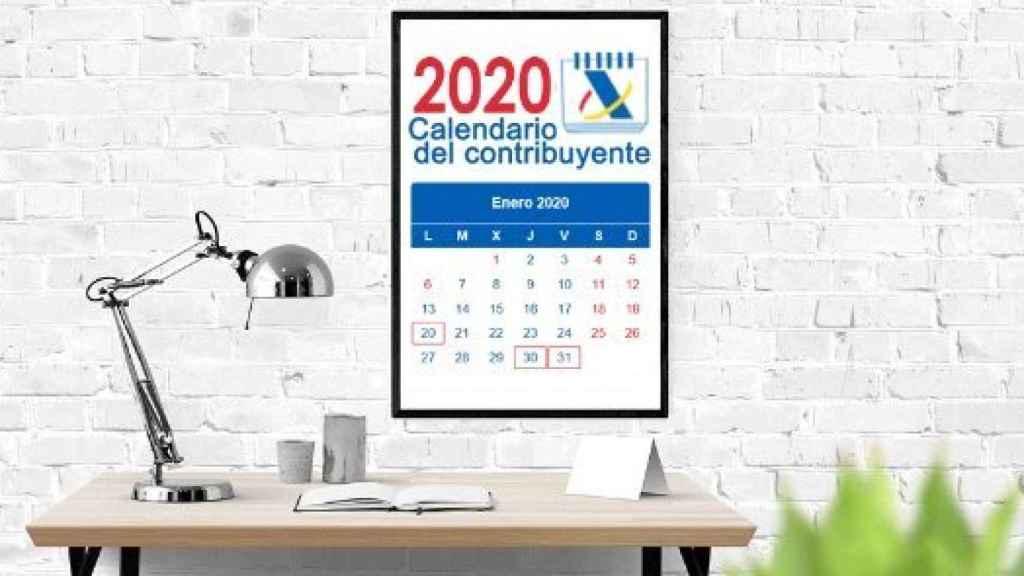 Calendario del contribuyente.