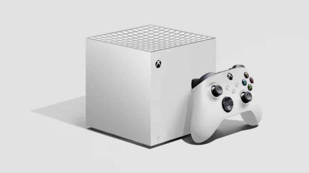 Imagen renderizada de cómo sería la Xbox Series S