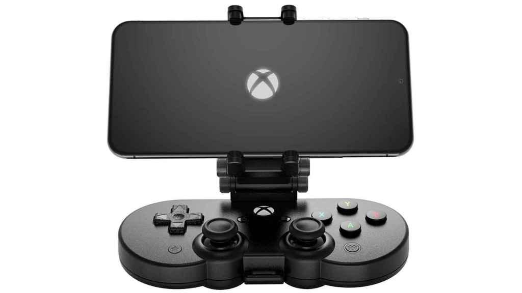 El mando de Xbox de 8BitDo incluye un soporte para el móvil