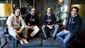 Hugo Arévalo, Borja Adanero, Kike Corral y Rafa Gozalo, fundadores de ThePowerMBA.