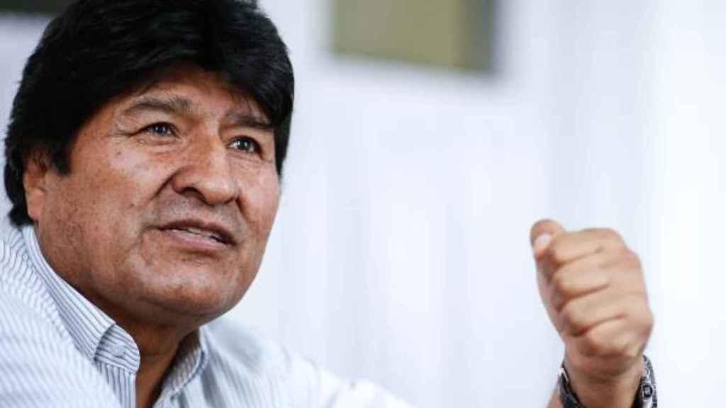 El expresidente de Bolivia, Evo Morales. Efe.