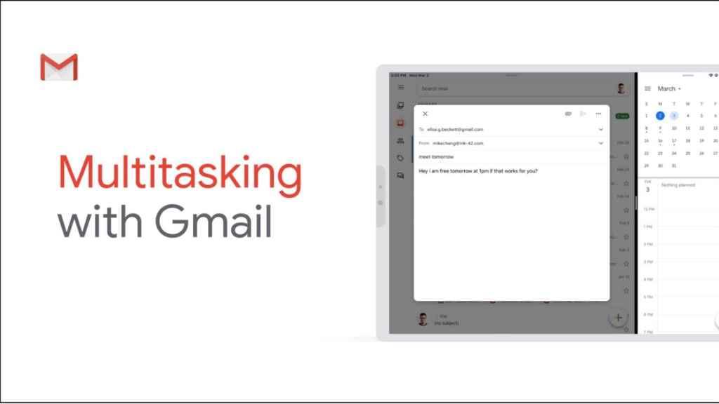 Gmail para iPad por fin es compatible con la pantallad dividida