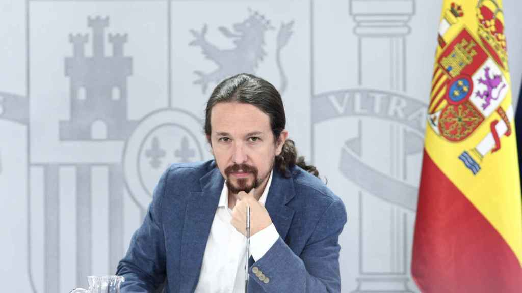 El vicepresidente y ministro de Derechos Sociales y Agenda 2030, Pablo Iglesias. Efe.
