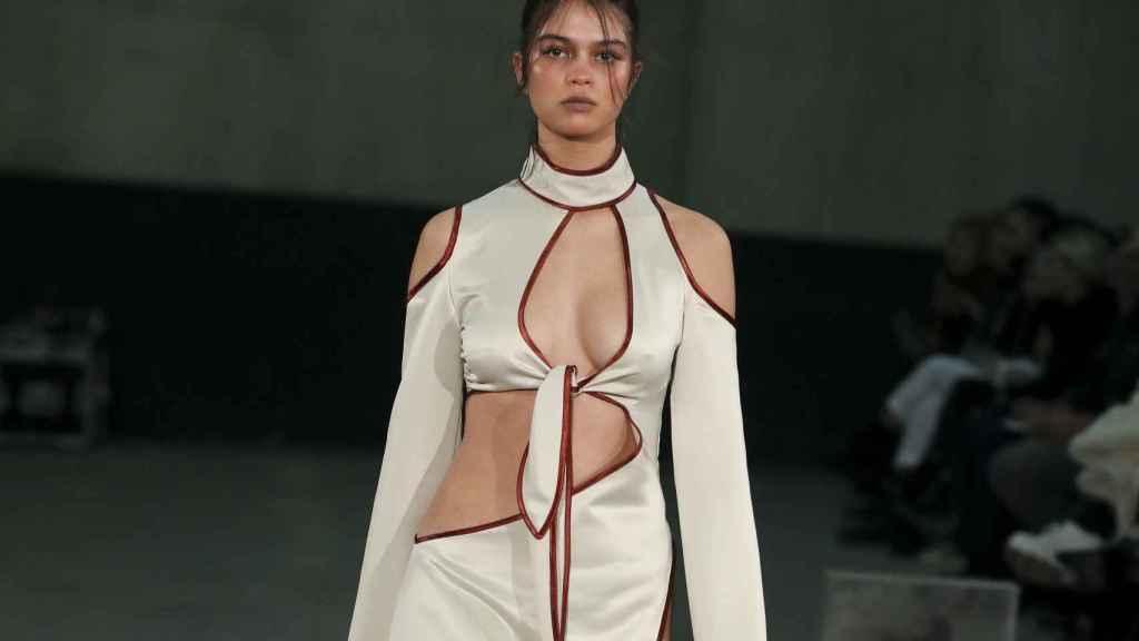 Una d elas creaciones de Cherry Masia en la Fashion Week de Madrid.