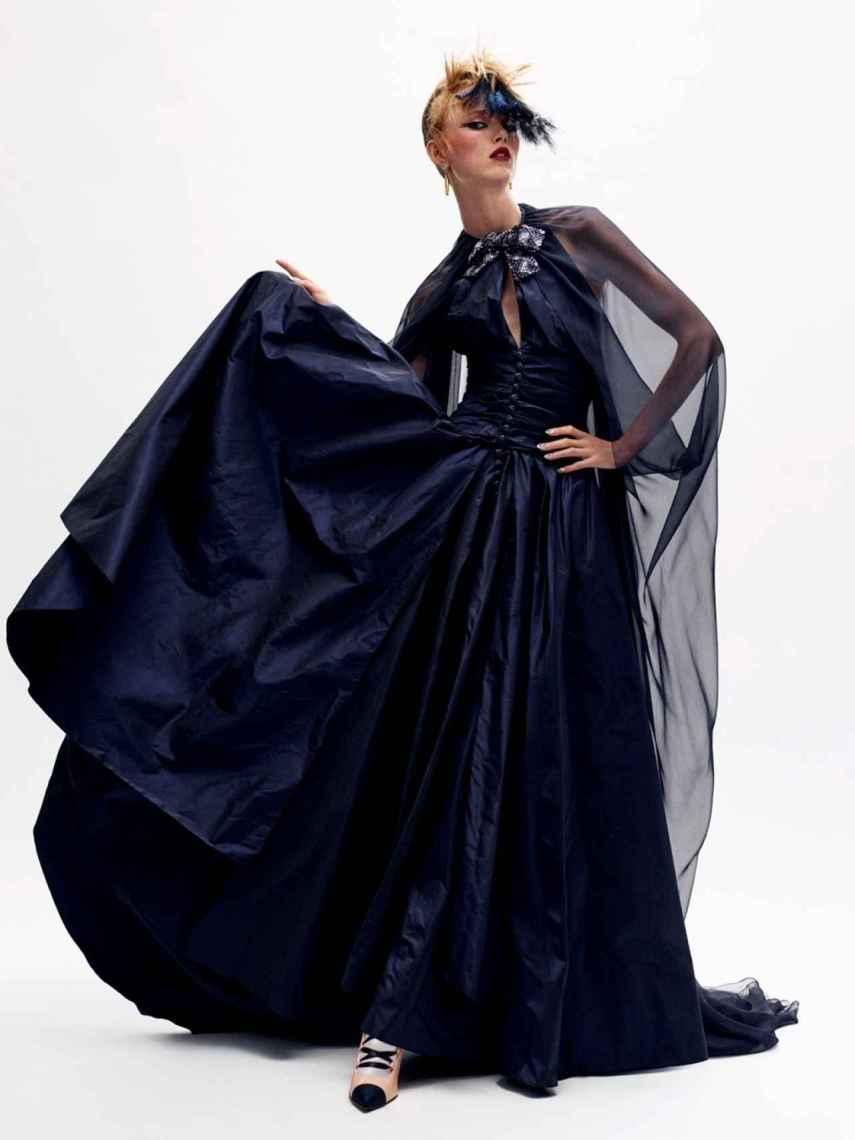 Diseño de Chanel presentado en el último desfile virtual de la casa de moda.