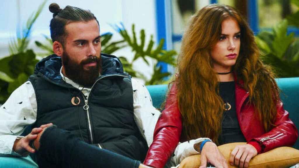 Carlota Prado y José María López en 'GH Revolution'.