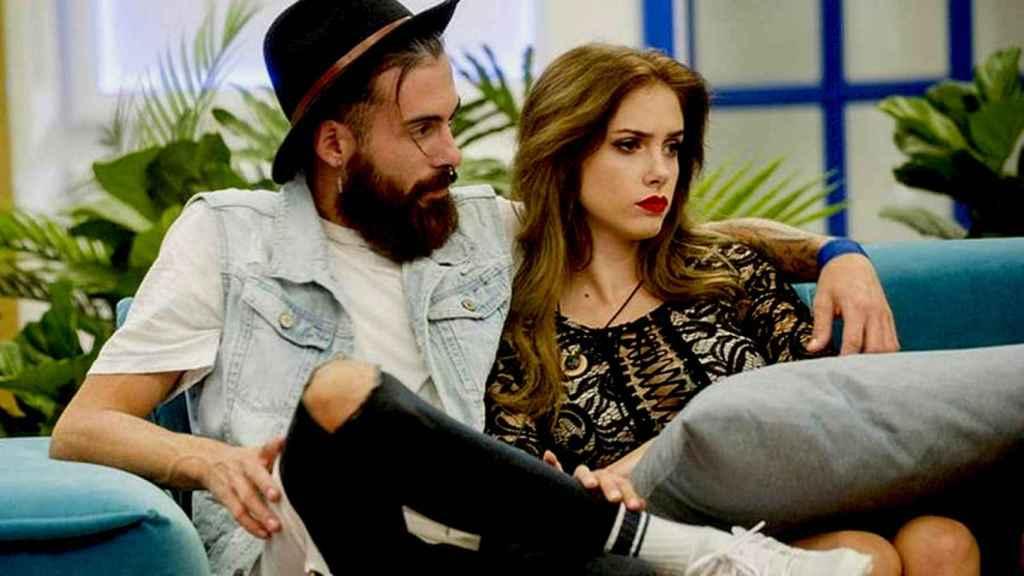 Carlota y José María en 'GH'.
