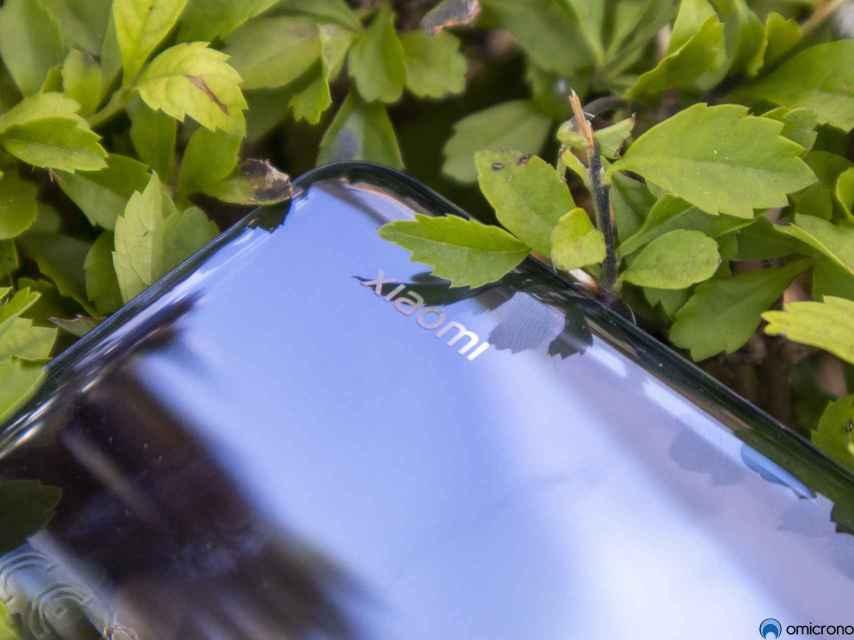 Logo de Xiaomi en el Mi Note 10 Lite.