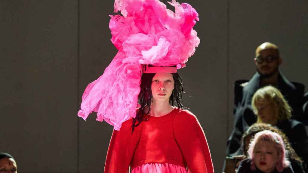 Imagen de un desfile de la última edición de la Fashion Week de París.