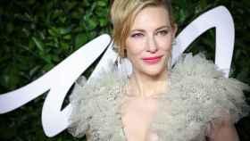 Cate Blanchett en una entrega de premios.