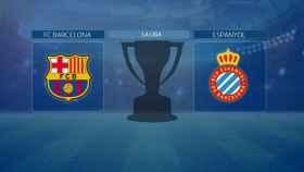 FC Barcelona - Espanyol, partido de La Liga