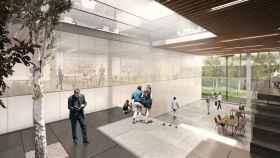 Simulación del proyecto Entre patios que rehabilitará el edificio de Castellana 19.
