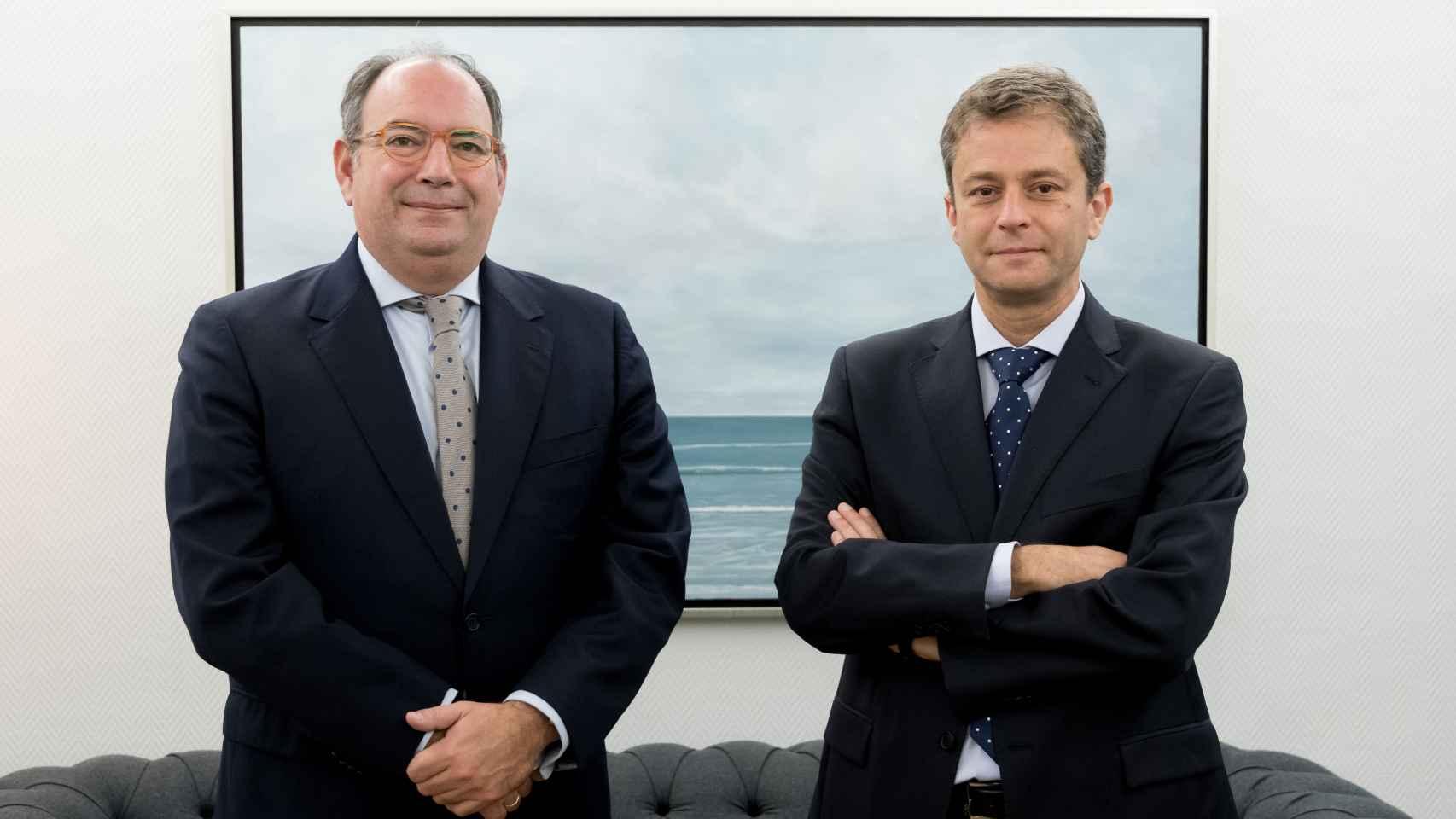 Rafael Valera y Julián Pascual, cofundadores de Buy & Hold.