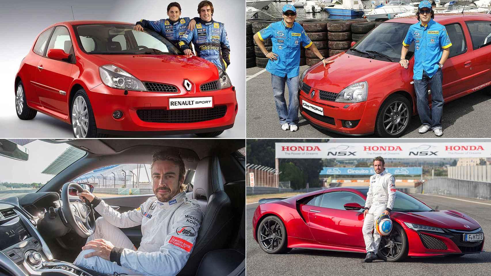 Fernando Alonso ha sido embajador de multitud de nuevos modelos de coche.