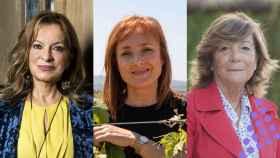 Cristina Forner, Mireia Torres y Marisol Bueno.