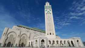 Mezquita de Hassan II, en Casablanca (Marruecos).