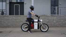 Moto eléctrica de Punch Motorcycles.