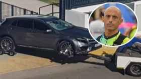 Mario, el ciclista atropellado en la AP-7: la conductora se fugó con la bici incrustada en el coche
