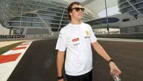 Fernando Alonso, durante su última etapa en Renault