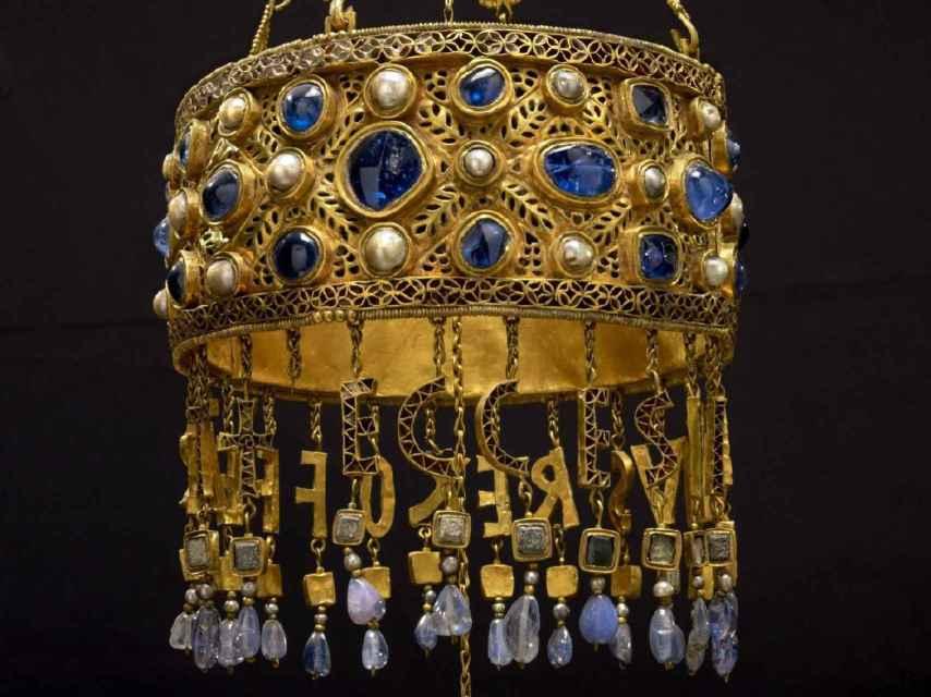 Corona del rey Recesvinto.