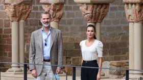 Felipe y Letizia en Huesca.