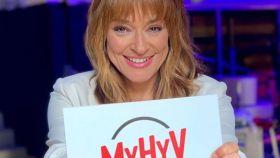 Toñi Moreno en el programa 'Mujeres, hombres y viceversa'.