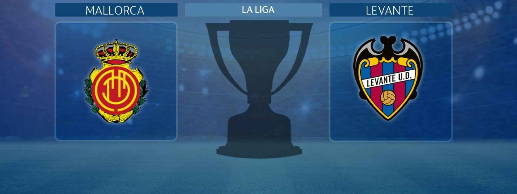 Mallorca - Levante, partido de La Liga