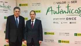 Carlos Javier Hernández y José Martínez, principales responsables de la ONCE en Castilla-La Mancha