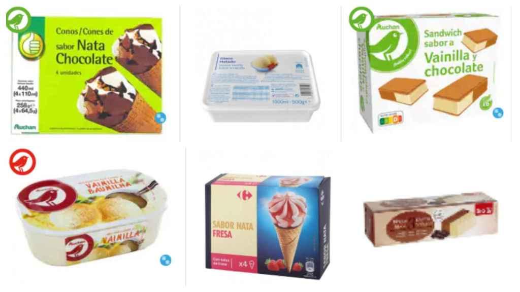 Los helados más baratos del supermercado