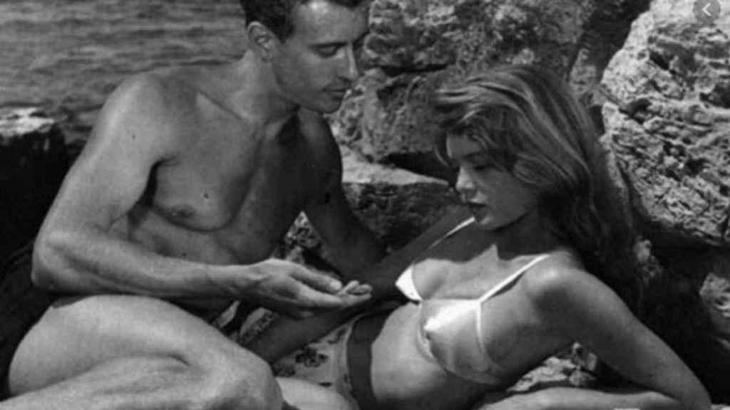 Brigitte Bardot en una escena de 'La chica del bikini'.