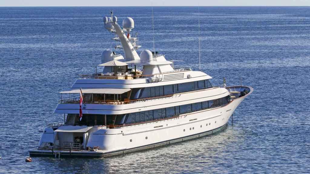El yate 'Drizzle', la embarcación más grande de Amancio Ortega.