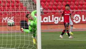 Takefusa Kubo, en el Mallorca - Levante de la jornada 35 de La Liga