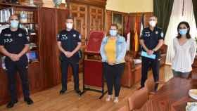 Dos nuevos agentes han tomado posesión en Talavera de la Reina