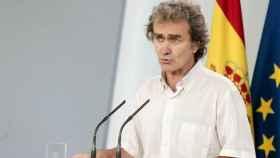 El director del Centro de Coordinación de Alertas y Emergencias, Fernando Simón. Efe
