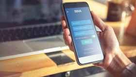 Aplicación móvil de BBVA.