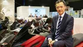 Carlos Wang, director general de Kymco España.