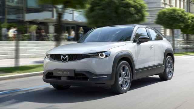 Nuevo Mazda MX-30, un SUV 100% eléctrico.