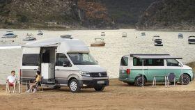 Imagen de la nueva Volkswagen Grand California basada en el Crafter.