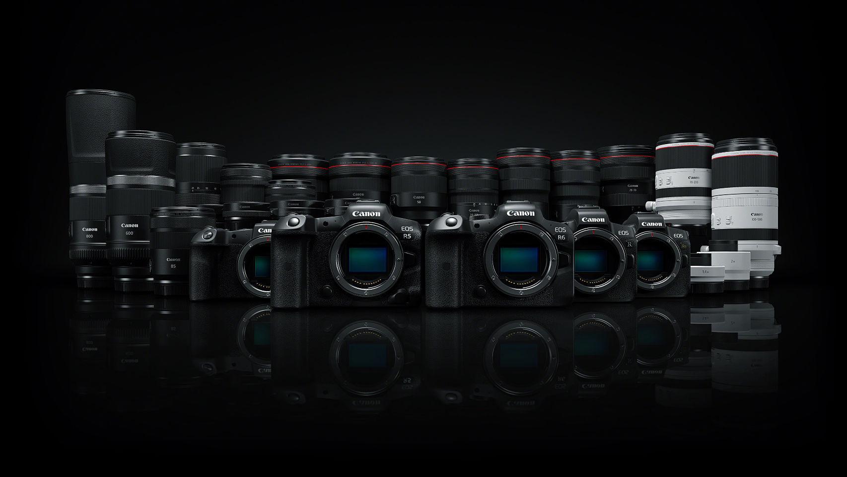 Nuevas Canon EOS R5 y EOS R6.