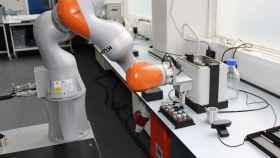Robot científico.