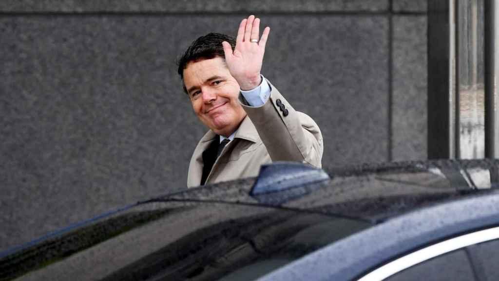 Paschald Donohoe, nuevo presidente del Eurogrupo.