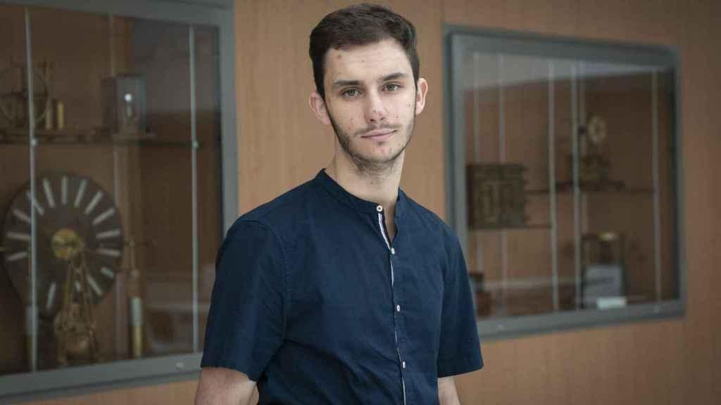 Enrique Sánchez está en cuarto curso y quiere dedicarse a la investigación matemática avanzada.