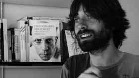 El escritor Juan Gómez Bárcena.