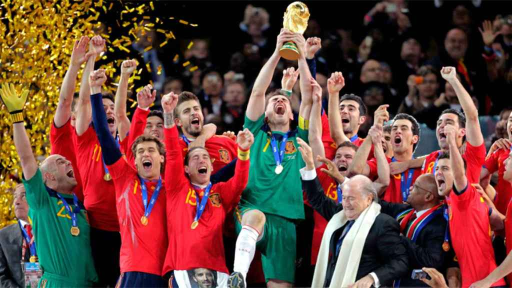Spain wins World Cup in South Africa