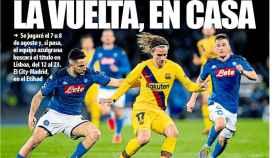 Portada Mundo Deportivo (10/07/20)