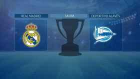 Real Madrid - Alavés: comenta en directo con nosotros el partido de La Liga